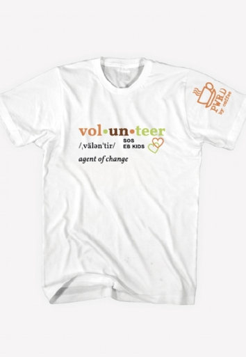 Camiseta Masculina Eb Kids Volunteer